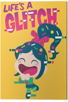 Pinturas sobre lienzo  ¡Rompe Ralph! - Life's a Glitch