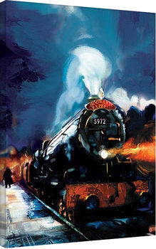 Pinturas sobre lienzo  Harry Potter - Hogwarts Express