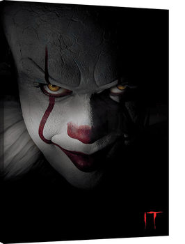 Pinturas sobre lienzo  IT - Pennywise Closeup