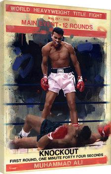 Pinturas sobre lienzo  James Paterson - Knockout