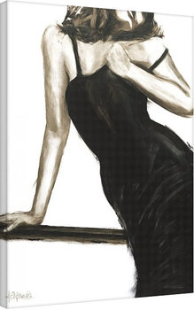 Pinturas sobre lienzo Janel Eleftherakis - Little Black Dress III