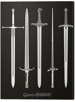 Cuadros en Lienzo Juego de Tronos - Swords