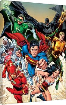 Pinturas sobre lienzo La Liga de la Justicia- Attack