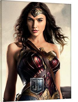 Cuadros en Lienzo La Liga de la Justicia- Wonder Woman