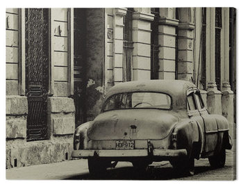 Pinturas sobre lienzo  Lee Frost - Vintage Car, Havana, Cuba