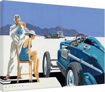 Pinturas sobre lienzo  Mike Maurice - Bonneville Salt Flats 2