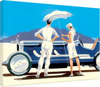Pinturas sobre lienzo  Mike Maurice - Bonneville Salt Flats
