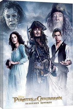 Pinturas sobre lienzo Piratas del Caribe - Salazar's Revenge