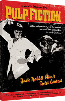Pinturas sobre lienzo  Pulp Fiction - Twist Contest