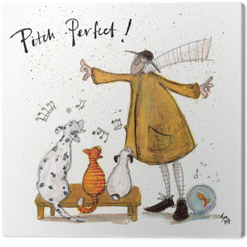 Pinturas sobre lienzo  Sam Toft - Pitch Perfect