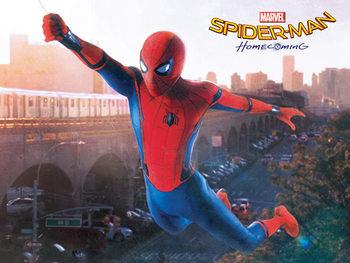 Pinturas sobre lienzo Spider-Man Homecoming - Swing