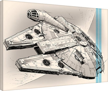 Cuadros en Lienzo  Star Wars Episode VII: The Force Awakens - One Sheet