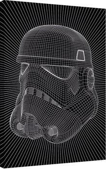 Pinturas sobre lienzo Star Wars - Stormtrooper Wire