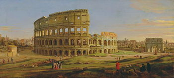 Pinturas sobre lienzo  The Colosseum