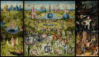 Cuadros en Lienzo The Garden of Earthly Delights, 1490-1500