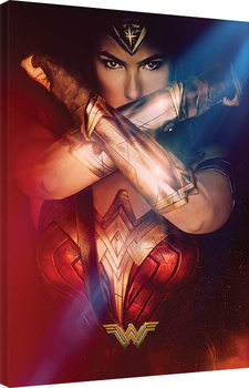 Pinturas sobre lienzo  Wonder Woman - Power