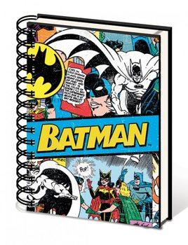 Batman - Budget A5 Notebook  Písacie Potreby