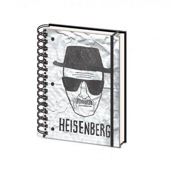 Breaking Bad (Perníkový tatko) - Heisenberg A5 Písacie Potreby