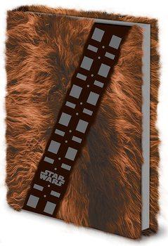 Star Wars - Chewbacca Fur Premium A5 Notebook Písacie Potreby