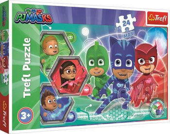 Pussel PJ Masks: Transformation