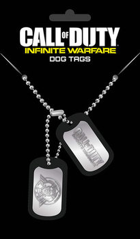 Placa identificadora Call Of Duty: Infinite Warefare - Logo