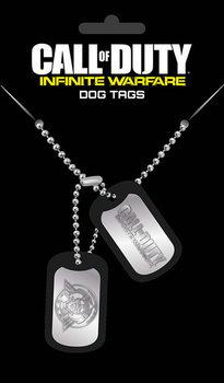 Placa identificadora Call Of Duty: Infinite Warefare - Logo