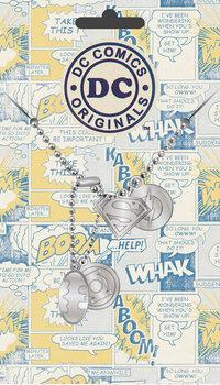 Placa identificadora DC Comics - Logo Pendant
