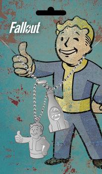 Placa identificadora Fallout - Nuka Pendant