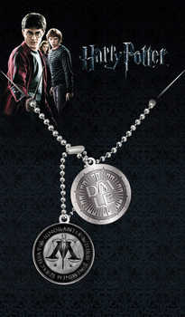Placa identificadora Harry Potter - Ministry Of Magic Pendant
