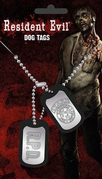 Placa identificadora Resident Evil - Stars