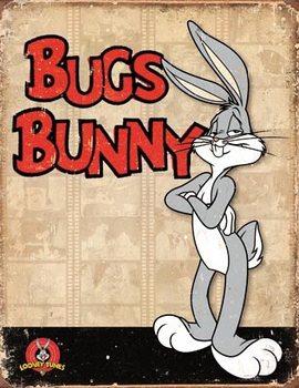 Bugs Bunny - Retro Panels Placă metalică
