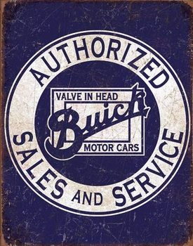 Buick - Valve in Head Placă metalică