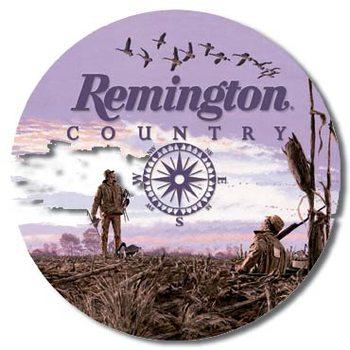 REMINGTON COUNTRY Placă metalică