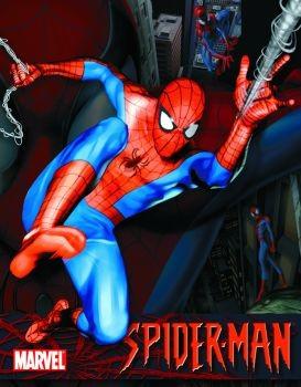 SPIDER-MAN Placă metalică
