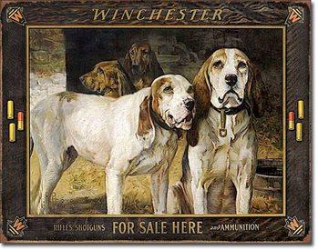 Placă metalică Winchester - For Sale Here