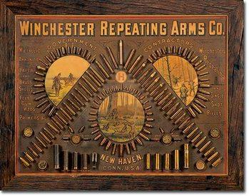 Winchester - Repeating Arms Placă metalică