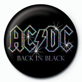Odznak  AC/DC - Back in black