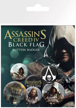 Placka Assassins Creed 4 – black flag