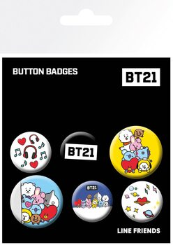 Placka BT21 - Mix