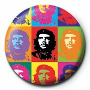 Odznak CHE GUEVARA - pop art