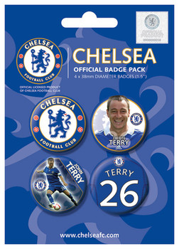 Placka CHELSEA - TERRY