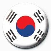 Placka Flag - Korea Republic