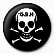 Odznak G.B.H (SKULL)