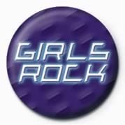 Odznak GIRLS ROCK