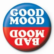 Odznak GOOD MOOD / BAD MOOD