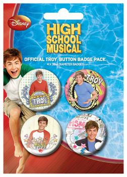 Placka HIGH SCHOOL MUSICAL - Troy