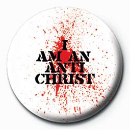 Odznak I AM AN ANTICHRIST