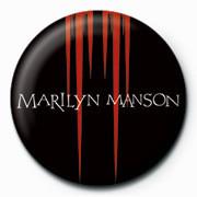 Odznak Marilyn Manson - Red Spikes