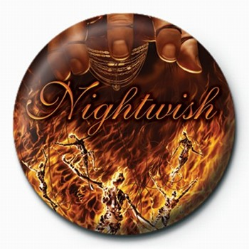 Odznak Nightwish-Master Passion G