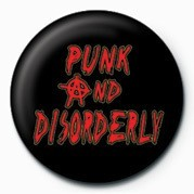 Odznak PUNK - PUNK & DISORDER LY